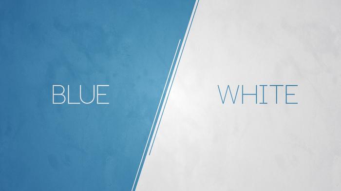 abstract, white, minimalism, anime, vintage, modern, blue