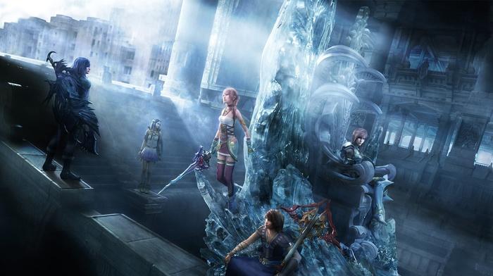 noel kreiss, Final Fantasy XIII, serah farron, Final Fantasy, paddra nsu yeul, video games