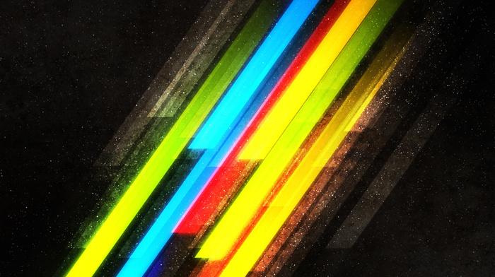 paints, lines, 3D