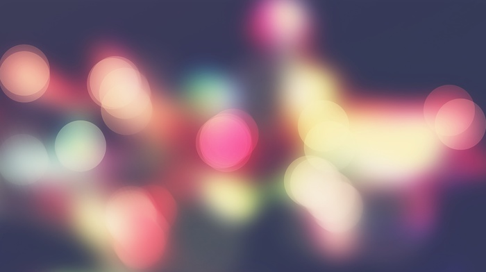 gradient, bokeh, colorful