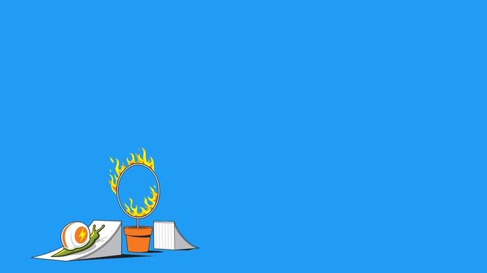humor, fire, threadless, cyrcus, minimalism, snail, simple