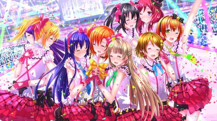 Kousaka Honoka, Koizumi Hanayo, Hoshizora Rin, Minami Kotori, Ayase Eri, anime girls, Nishikino Maki, anime, Yazawa Nico, Love Live, Sonoda Umi, Toujou Nozomi