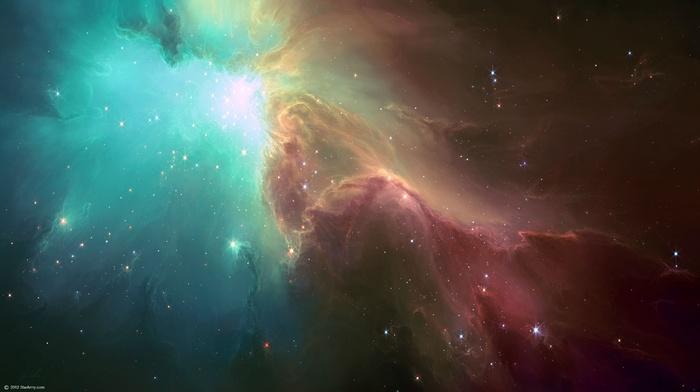 TylerCreatesWorlds, space art, nebula, space