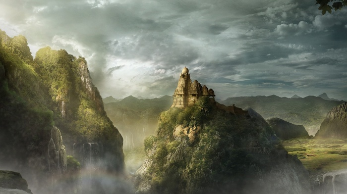 digital art, landscape, fantasy art, artwork