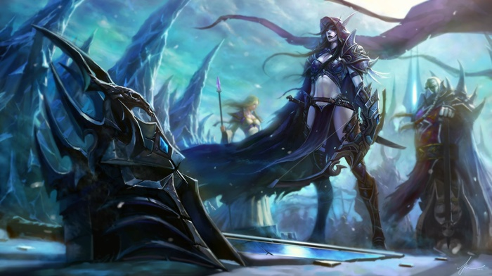 World of Warcraft, Jaina Proudmoore, Varok Saurfang, lich king