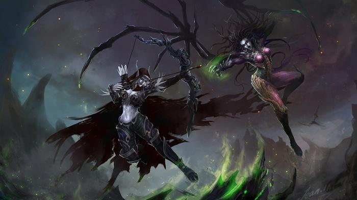 фантастическое исскуство, World of Warcraft, StarCraft