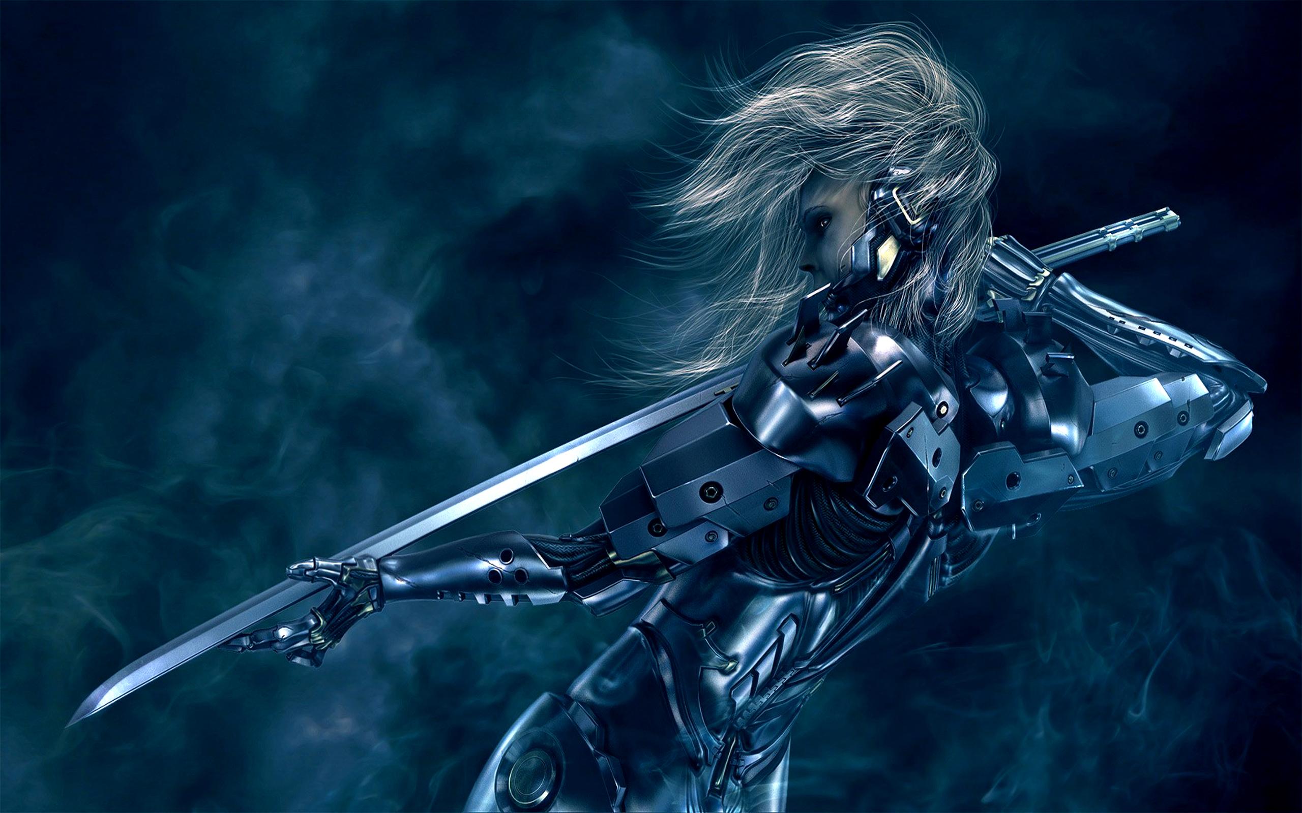 metal gear rising revengeance, cyborg, sword - wallpaper #631