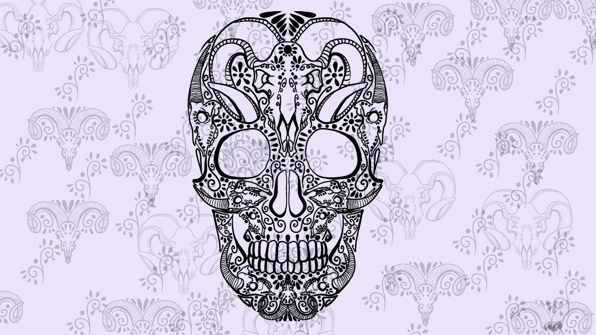 Skull Artwork Sugar