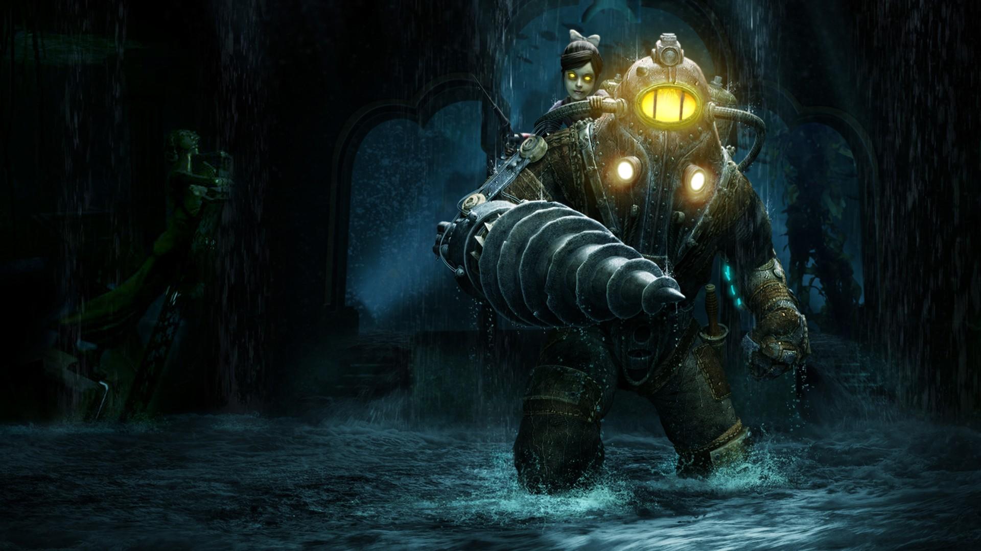 Little Sister Rapture Sea Big Daddy Video Games BioShock 2