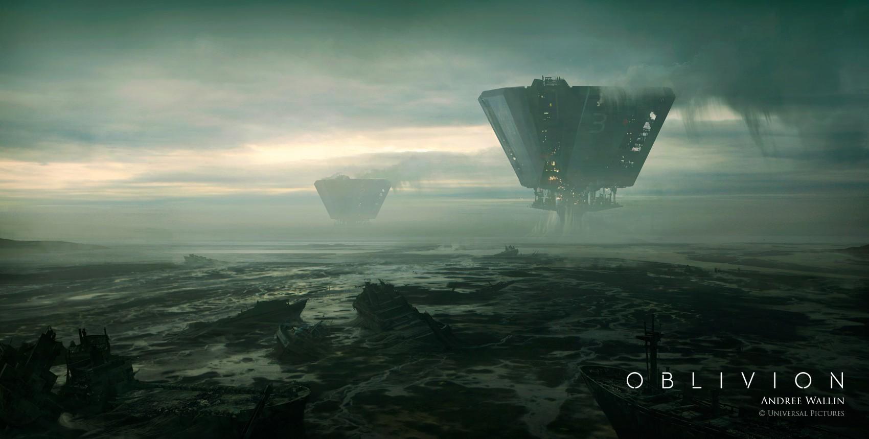 Digital Art Oblivion Movie Universal Pictures Download Wallpaper