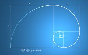 mathematics, science, pattern, Fibonacci sequence, golden ratio, minimalism