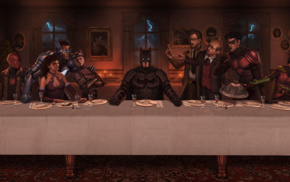 Robin character, Catwoman, Cne, The Last Supper, Red Hood, DC Comics