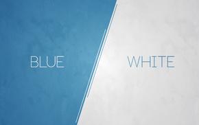 абстрактные, белые, минимализм, аниме, винтаж, синий