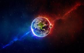 вселенная, космос, Земля