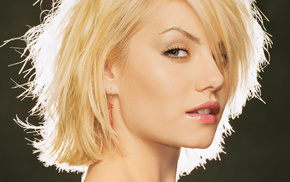 girl, blonde, blue eyes, Elisha Cuthbert