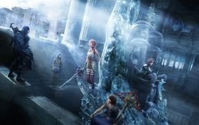 Noel Kreiss, Final Fantasy XIII, Serah Farron, Final Fantasy, Paddra Nsu Yeul, video games