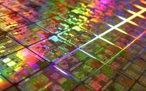 wafer, microchip, processor, technology, CPU