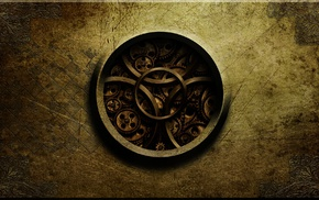 artwork, gears, steampunk