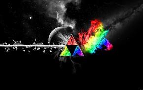 красочно, треугольник