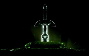 Master Sword, sword, video games, The Legend of Zelda