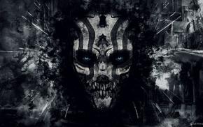 mask, fantasy art
