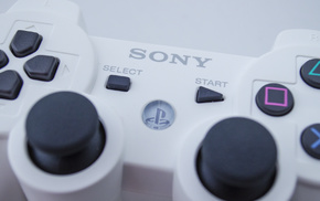 controllers, PlayStation, PlayStation 3, Sony, closeup