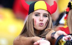 girl, Belgium, Axelle Despiegelaere, FIFA World Cup