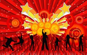 праздник, танцевальные па, диско