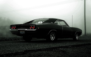 car, Dodge Charger, muscle cars