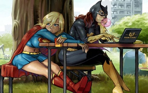 DC Comics, Batgirl, superheroines, Supergirl
