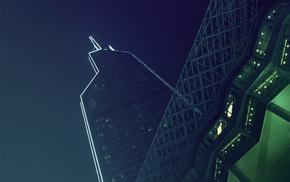 skyscraper, urban, architecture, photography