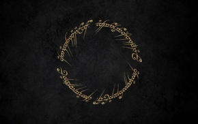 minimalism, rings, fantasy art, artwork, J. R. R. Tolkien, The Lord of the Rings