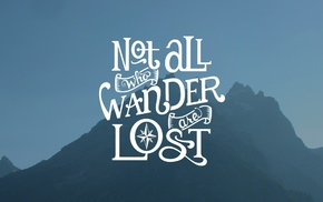 simple background, typography, quote, J. R. R. Tolkien, mountain, simple
