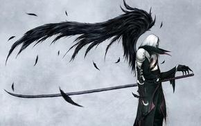 artwork, Final Fantasy VII, wings