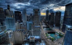 Chicago, cityscape, skyscraper