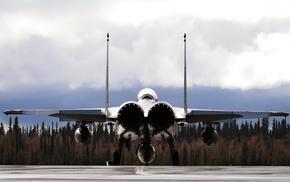 сверхзвуковой истребитель, земля, авиация, двигатели, полоса