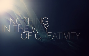 quote, creativity, typography