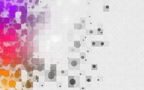 круг, минимализм, красочно, абстрактные
