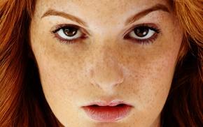 freckles, Faye Reagan, redhead, pornstar, portrait