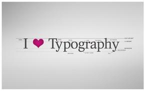 произведение искусства, типография, просто