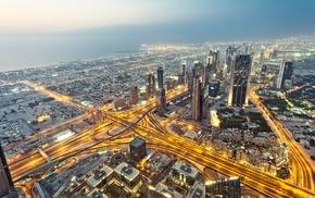 nature, skyscraper, urban, Dubai, cityscape, anime