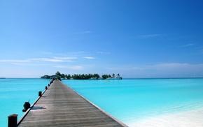 water, summer, berth, sea