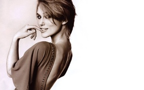 actress, sepia, girl, Keira Knightley