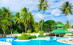 resort, summer, Sun, swimming pool, rest