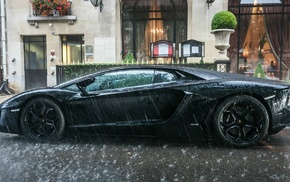Ламборгини, машина, Lamborghini Aventador
