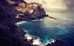 Италия, пейзаж, море