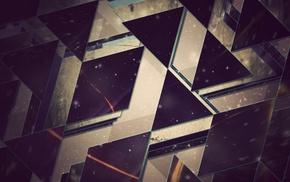треугольник, абстрактные