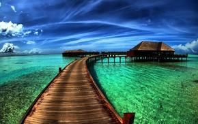 sea, berth, summer