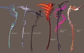fantasy art, fantasy weapons, weapon
