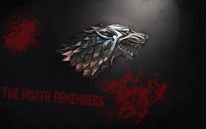 House Stark, direwolves, Direwolf, Game of Thrones